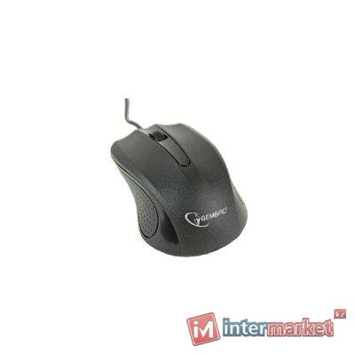 Мышь Gembird Optical mouse MUS-101, (Black)